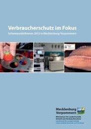 I Verbraucherschutz in Mecklenburg-Vorpommern - MVnet