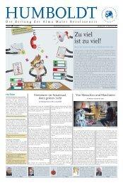 Download der kompletten Ausgabe als PDF-Datei - Hu-berlin.de