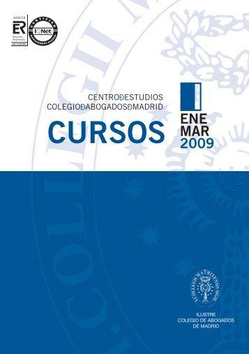 CURSOS - Ilustre Colegio de Abogados de Madrid