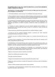 Recomendación 1/1998, del Consejo de Europa, sobre Mediación ...