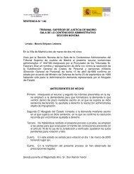 SENTENCIA N º 140 TRIBUNAL SUPERIOR DE JUSTICIA DE ...