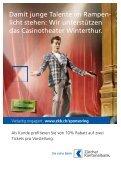 Neue RegeluNg: FlexibleR VoRVeRkauF - Casinotheater Winterthur - Seite 2