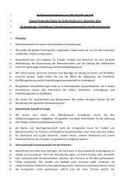 Zum Eckpunktepapier Außenpolitik der AG Auswärtiges ... - SPD