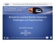 Dr. Jean Salomon - ICAO