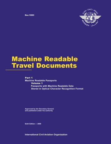 Machine Readable Travel Documents
