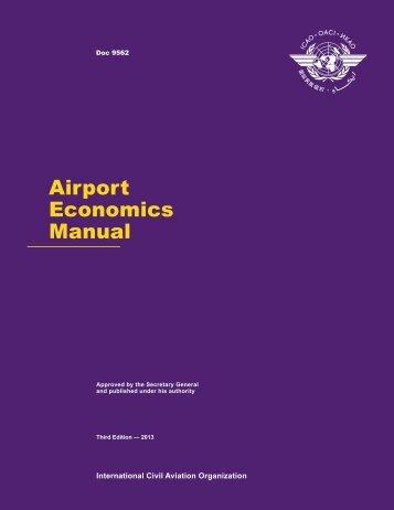 Airport Economics Manual - ICAO
