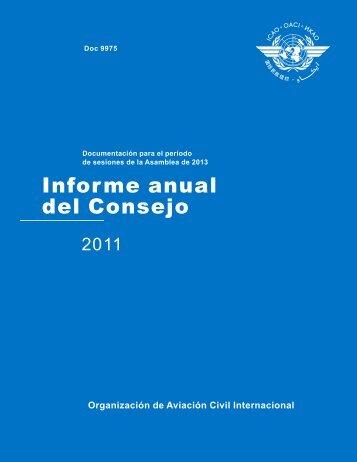 Informe anual del Consejo - ICAO