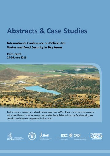 Abstracts & Case Studies - ICARDA