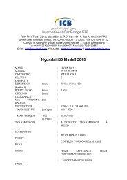 Hyundai i20 Modell 2013 - ICB - International Car Bridge