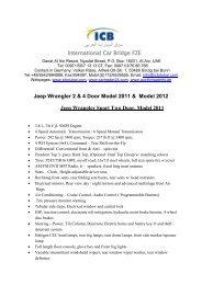 Volker Risse - ICB - International Car Bridge