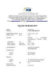 Hyundai i40 Modell 2013 - ICB - International Car Bridge