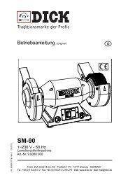 SM-90 - Friedr. DICK