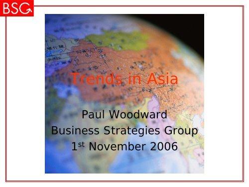 Trends in Asia - ICCA