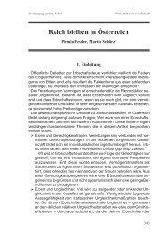 Fessler; Schürz (2013): Reich bleiben in ... - Armutskonferenz