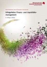 Erfolgsfaktor Finanz- und Liquiditätsmanagement - Börsenverein ...