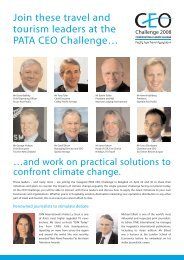 Join these travel and tourism leaders at the PATA CEO ... - ICCA