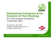 Download Presentation - Terri Breining - ICCA