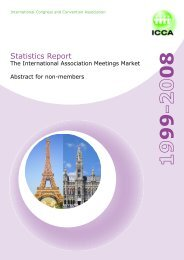 Statistics Report - ICCA