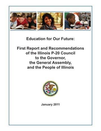 Education for Our Future - Illinois Community College Board
