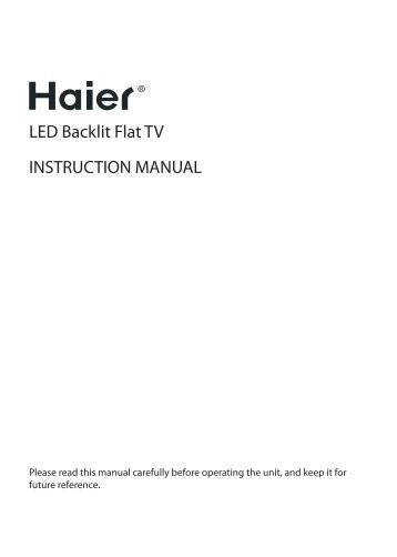 02 Introductie - Haier