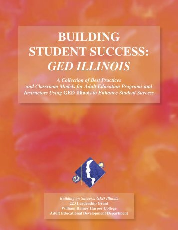 GED Illinois text.indd - Illinois Community College Board