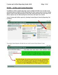 Custom and Ad Hoc Reporting Guide v8