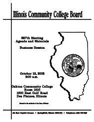 October - Illinois Community College Board