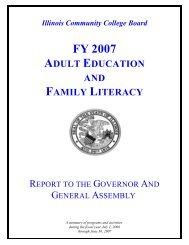 FY 2007 - Illinois Community College Board