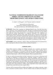 natural composites based on cellulosic fibres and ... - ICCM