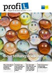 Magazin für das Lehren und Lernen. Nr. 1/20 13 Über ... - profi-L
