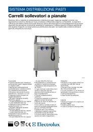 Carrelli sollevatori a pianale - Electrolux