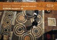Annual Report 2010 - ICCROM