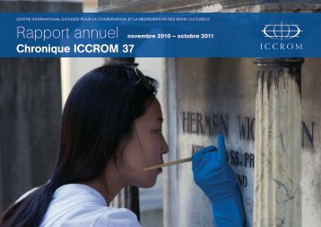 Rapport annuel - ICCROM