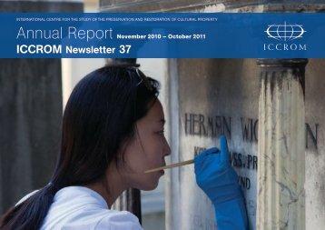 Annual Report 2011 - Iccrom