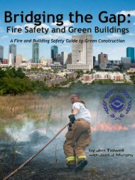 Bridging the Gap – Fire Safety and Green Buildings - International ...