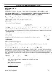 INTERNATIONAL PLUMBING CODE P2-07/08, Part II