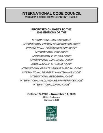 IPMC - International Code Council