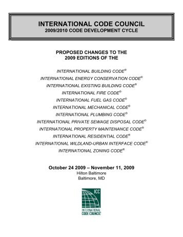 IPMC - International Code Council