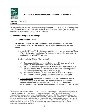 CP38-08 - International Code Council