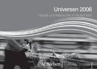 Universen 2006 - Handel und Verbraucher in ... - bei Nielsen