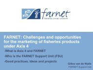 FARNET: Challenges and opportunities for the marketing of ... - Ice