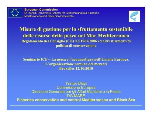 Calendario Pesca Sportiva Fvg 2020.Il Regolamento Mediterraneo Per La Pesca Ice