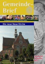 Gemeindebrief 03/2013 - Evangelisch-reformierte Kirche
