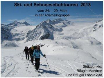 März_Adamello-Tourenwoche - DAV Sektion Schwaben