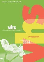 Programm als PDF herunterladen - Volkshochschule Osterholz ...