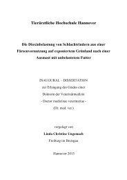 TiHo Bibliothek elib - Tierärztliche Hochschule Hannover