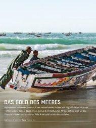 Das Gold des Meeres (aus: GIZ-Magazin akzente 03/2013)