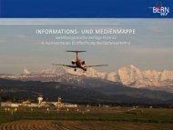 Medienmappe GNSS-Anflug und 4. Ausbauetappe - Bern-Belp