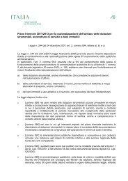 Piano triennale per utilizzo dotazione beni strumentali 2011-2013 - Ice
