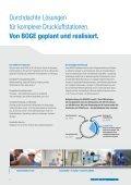 Bauen Sie auf die BOGE Anlagenbetreuung! - Boge Kompressoren - Seite 2